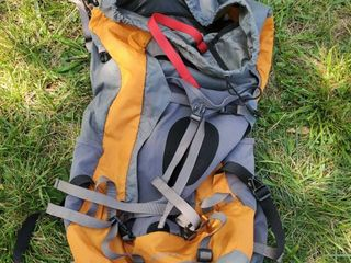 Osprey Orange and Grey Hiking Backpack