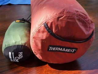 lot of 2 Cordura Covers  Thermareat fits a regular Size Mattress