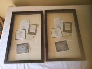 Pair of 11 x 18 Shadow Boxes