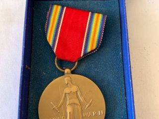 World War II Medal With Box location Shelf 4