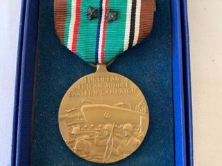 European American Middle Eastern Campaign Medal location Shelf 4