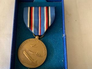 American Campaign Medal location Shelf 4
