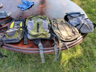 lot of 4 Backpacks