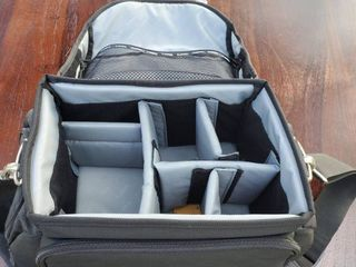 Canon Travel Camera Case  with Straps and Inside Dividers