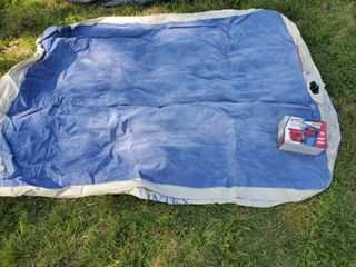 Intex Queen Size Air Mattress with Coleman QuickPump