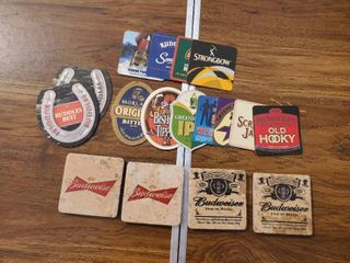 lot of Collectible Bar Coasters
