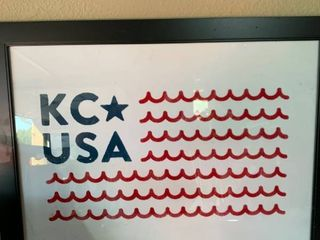 KC USA Nautical Flag Wall Art location Shelf 5
