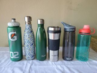 lot of 6 Water   Coffee Containers