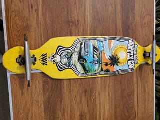 Shaun White long Board   Wheels Not Included