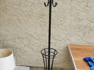 Metal Umbrella and Coat Stand