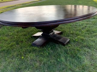 Amazing 7 Foot Knights of the Round Table Maple Table