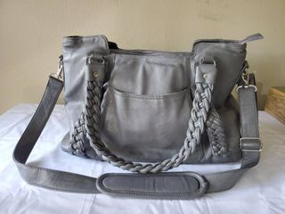 Ephiphanie leather Grey Electronics Womens Bag