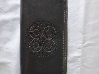 Authentic Black leather Coach Wallet