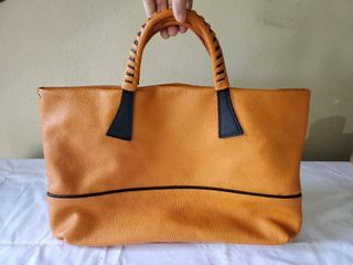 Genuine leather Nicoli Orange Purse
