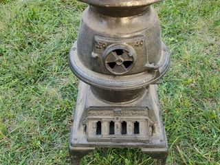 Iron Atlanta Stove Works Stove