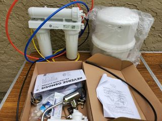 GE Smart Water Osmosis Water Stystem with Accessories and Water lines