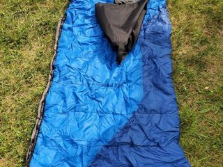 Blue Field and Stream Sleeping Bag