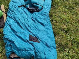 Teal Cabela Sleeping Bag