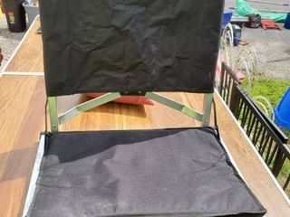 Black truck Tailgate Chair  Collapsible