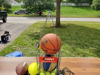 lot of Sports Equipment
