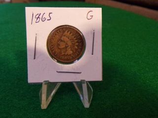 1865 INDIAN HEAD PENNY   G