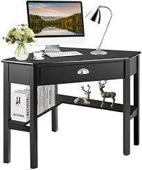 Corner Computer Desk Table Wooden Workstation Corner laptop Desk  Retail 167 99 black