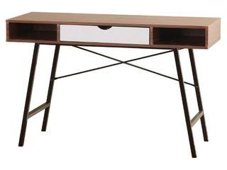 Simple living Mid century Edison Desk  Retail 150 99