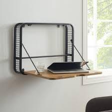 Carbon loft 24 inch Wall Mount Drop Down lap Top Desk  Retail 148 49 english oak