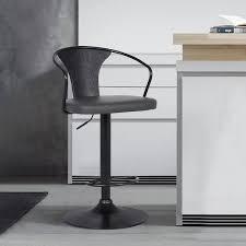 Contemporary Swivel Adjustable  Retail 115 99 graywood black
