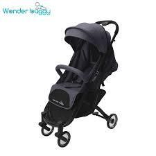 WonderBuggy Baby Stroller Portable One Hand Folding Compact Travel Stroller steel wool gray Retail 117 49