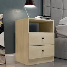 Carson Carrington Hitra Contemporary 2 drawer Nightstand  Retail 96 49