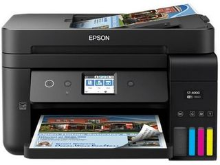 EPSON Workforce ST 4000 ECOTANK Color MFP SuperTank Printer  Multi Function Printer  Color  C11CG19202  Retail 473 19