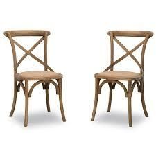 Bentwood Chairs  Set of 2  Retail 316 49 gray wash