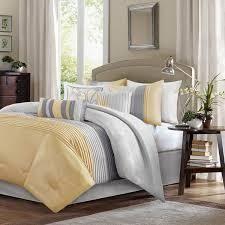 Copper Grove Kiston Yellow 7 piece Comforter Set  Retail 116 99