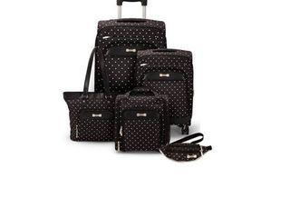 Geoffrey Beene Fashion Dot 5 Pc Set  Retail 171 99