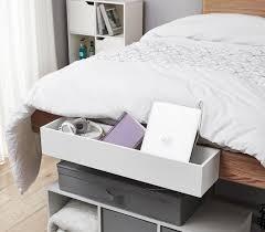 Yak About It Dorm Bedside Organizer white