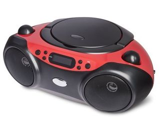 onn  CD Boombox with Bluetooth Wireless Technology
