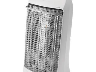Mainstays Quartz Electric Tower Space Heater  Indoor  White  HQ 2000W