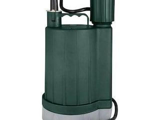 Zoeller 0 33 hp Thermoplastic Submersible Utility Pump