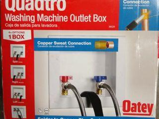 Oatey 38529 8 3 4In X 7 1 2In X 3 5 8In 1 4 Turn Quadtro Copper