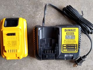 DeWalt DCB112 Battery and Charger