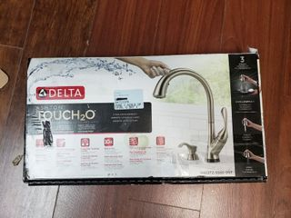Delta Ashton Touch2o Stainless Steel Pull Down Kitchen Faucet 19922tz sssd dst