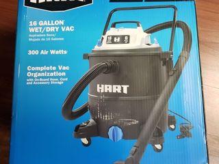 HART 16 Gallon 6 0 Peak HP Wet Dry Vacuum