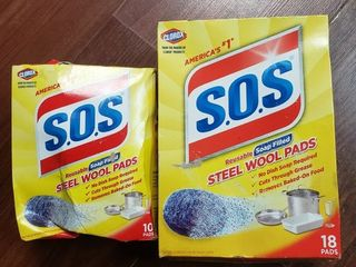 S O S Steel Wool Soap Pads 28 Ct