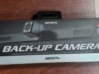 Metra Behind lic Plate Camera