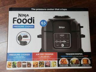 Ninja OP305 Foodi 6 5 Quart TenderCrisp Pressure Cooker   Black Gray