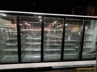 Hussman 5 Door Freezer Refrigerator Rl 5U