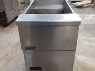 Pitco Natural Gas fryer on casters