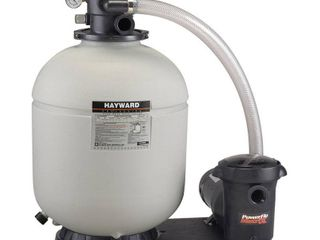 Hayward W3S180T93S 18 in  ProSeries Pool Sand Filter with 1 5 HP Matrix Pump