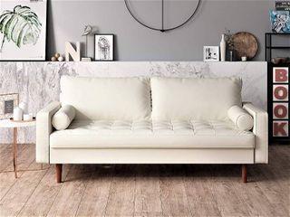 US Pride Furniture   loveseat  White